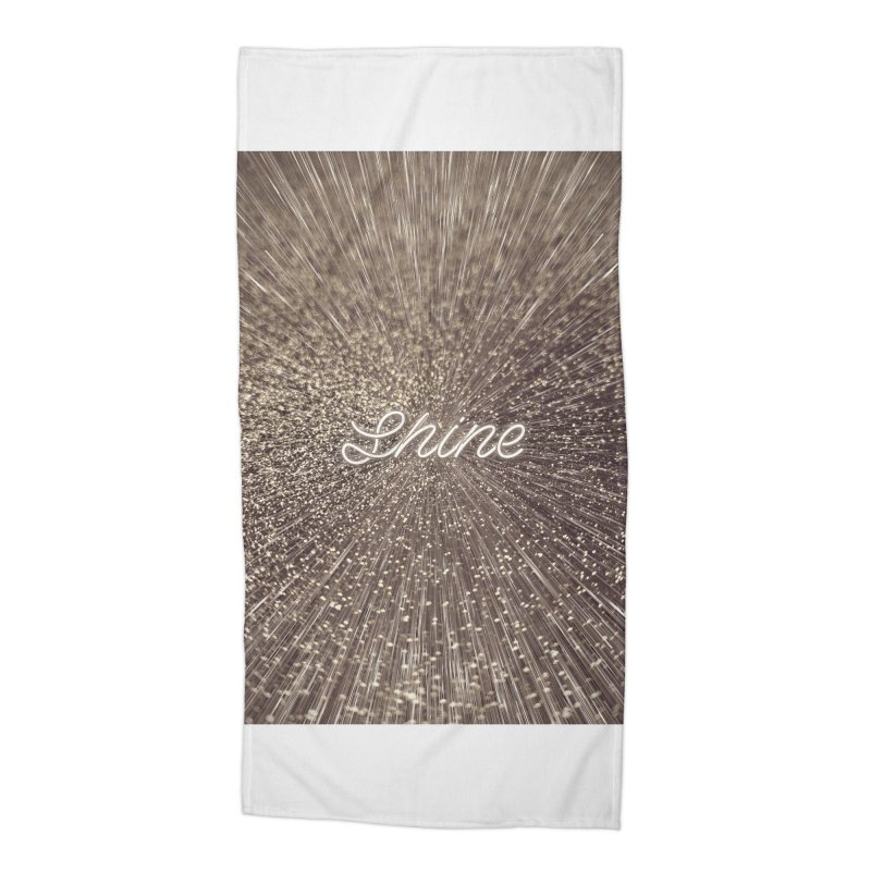 Shine Accessories Beach Towel by cafelab