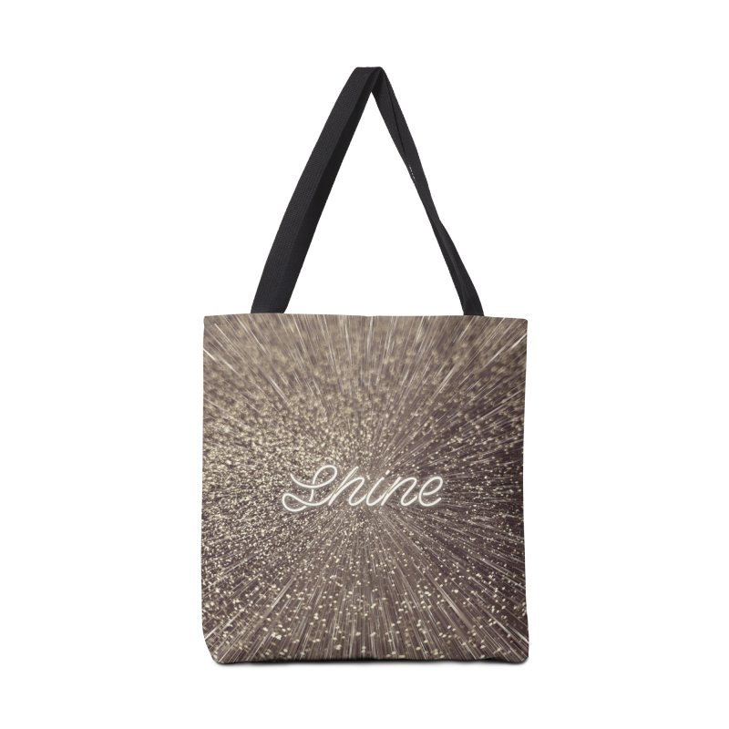 Shine Accessories Tote Bag Bag by cafelab