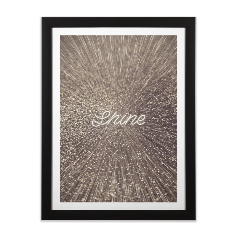 Shine Home Framed Fine Art Print by cafelab
