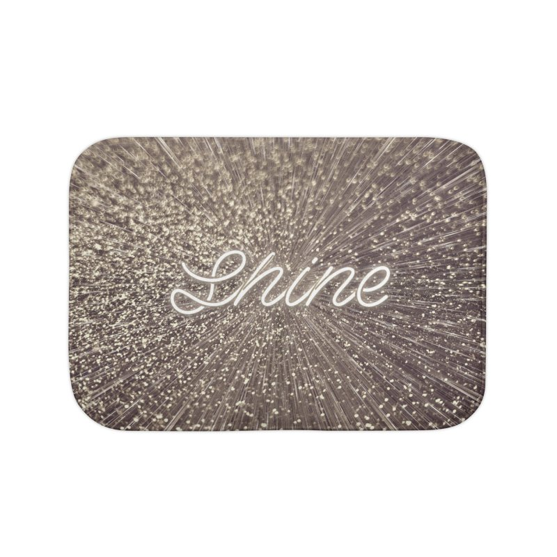 Shine Home Bath Mat by cafelab