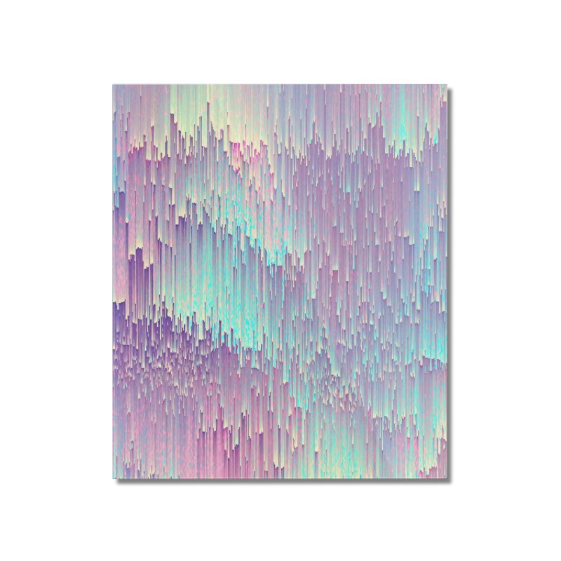 Iridescent Glitches Home Mounted Acrylic Print by cafelab