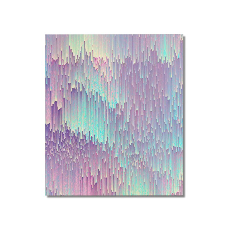 Iridescent Glitches Home Mounted Acrylic Print by cafelab's Artist Shop