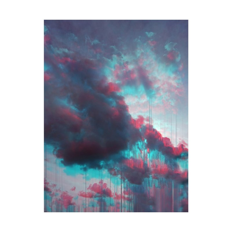 Rainy Day Home Stretched Canvas by cafelab