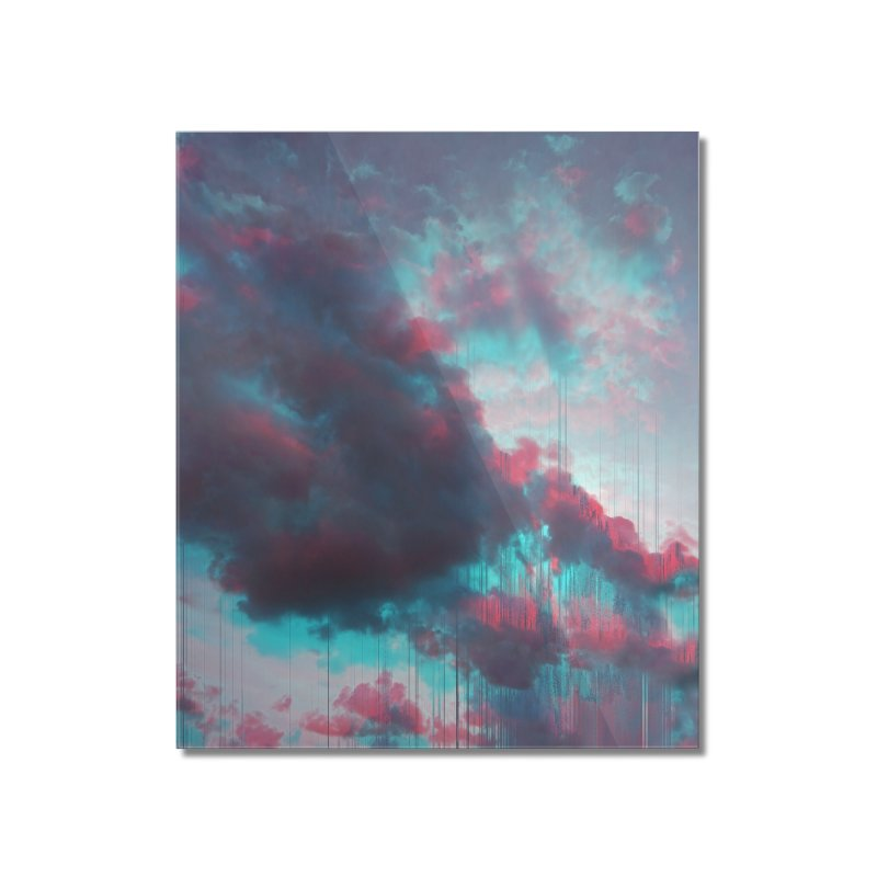 Rainy Day Home Mounted Acrylic Print by cafelab