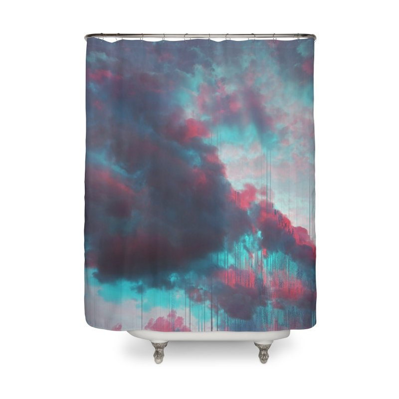 Rainy Day Home Shower Curtain by cafelab