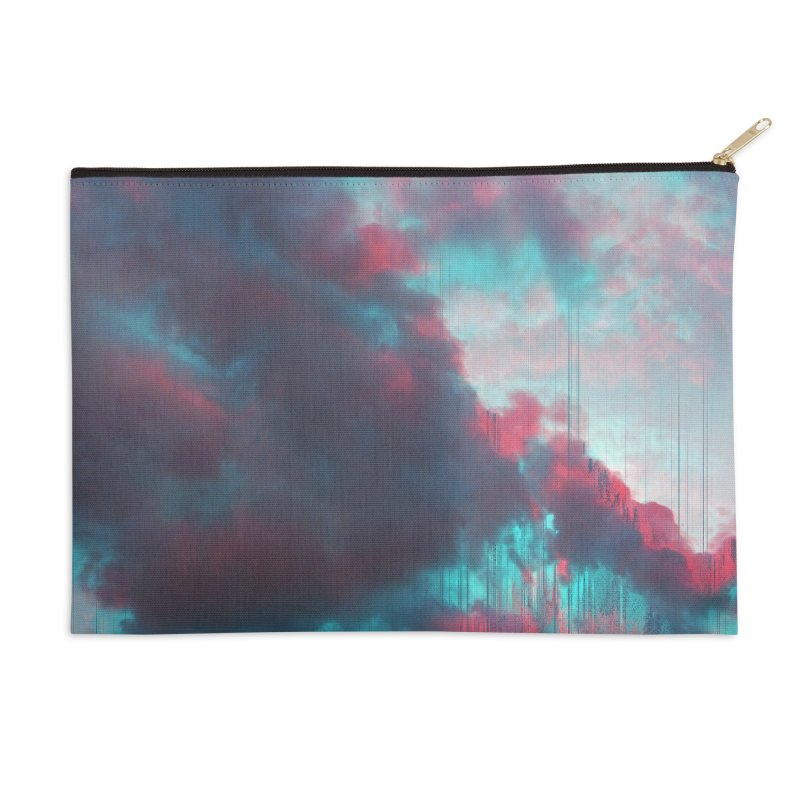Rainy Day Accessories Zip Pouch by cafelab