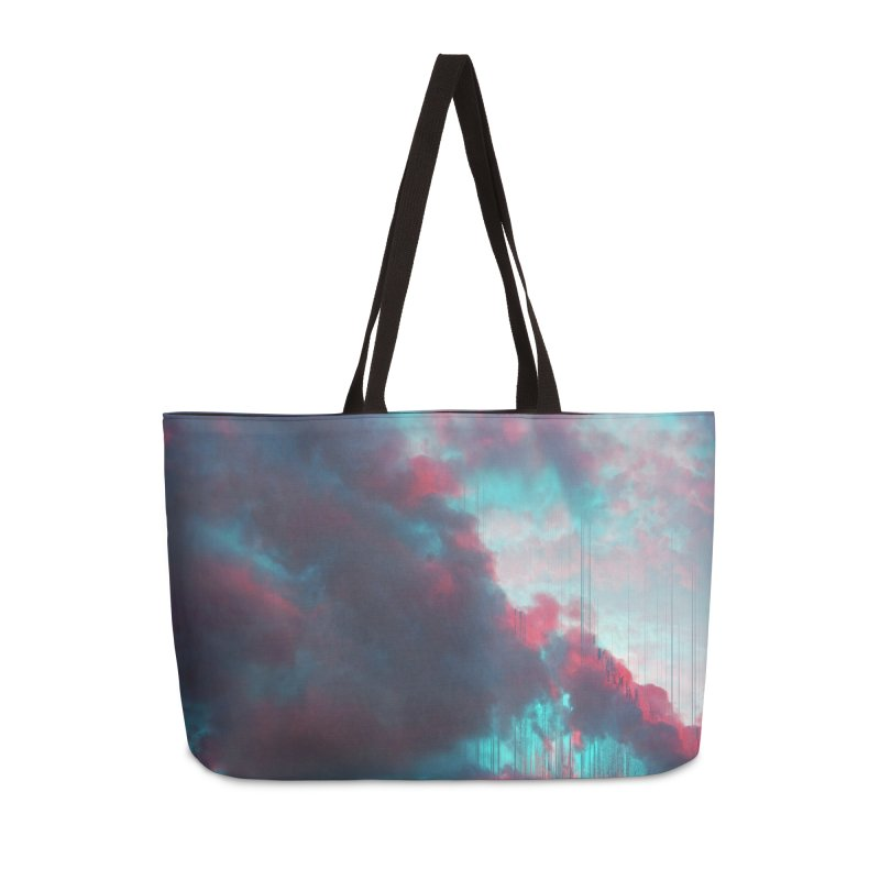 Rainy Day Accessories Weekender Bag Bag by cafelab