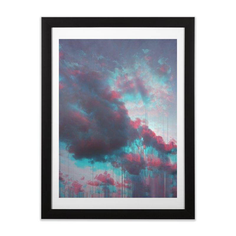 Rainy Day Home Framed Fine Art Print by cafelab