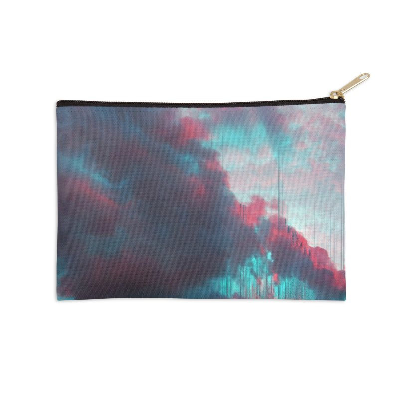 Rainy Day Accessories Zip Pouch by cafelab's Artist Shop
