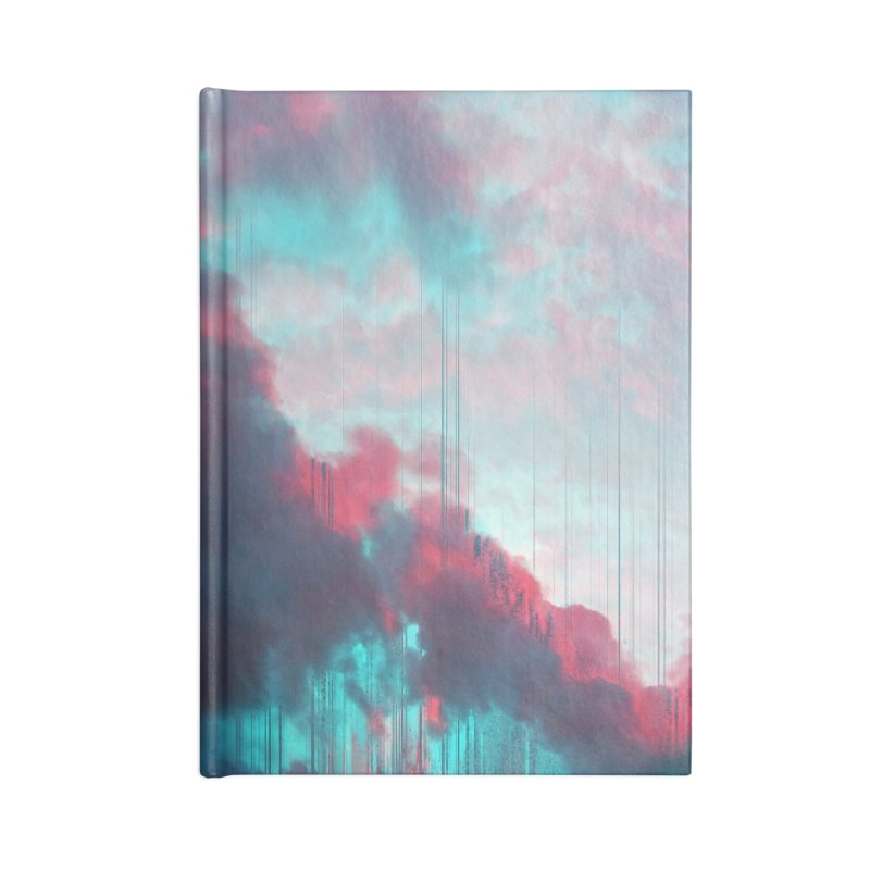 Rainy Day Accessories Lined Journal Notebook by cafelab
