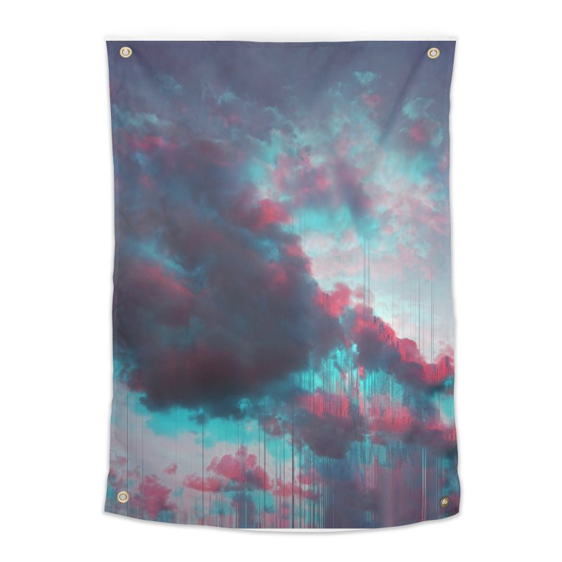 Rainy Day Home Tapestry by cafelab