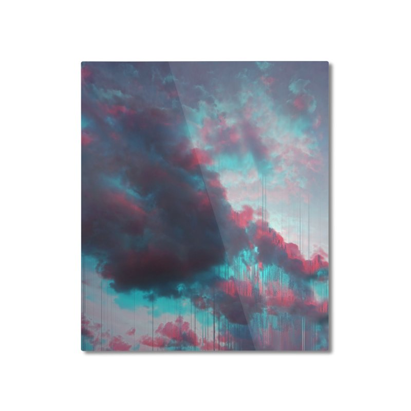 Rainy Day Home Mounted Aluminum Print by cafelab