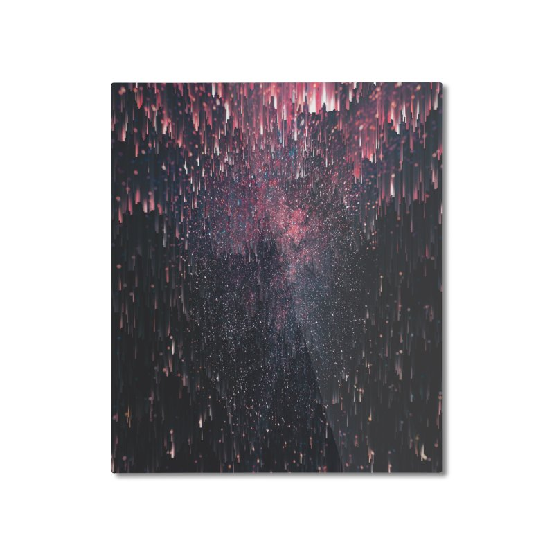 Stars Juice Home Mounted Aluminum Print by cafelab