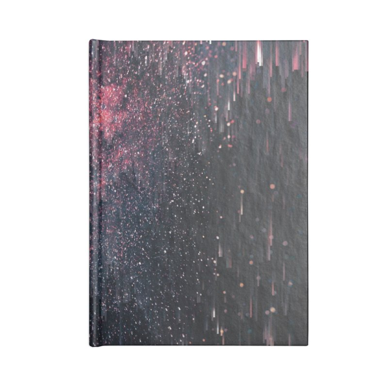 Stars Juice Accessories Lined Journal Notebook by cafelab