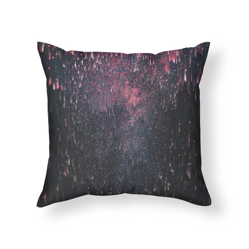 Stars Juice Home Throw Pillow by cafelab