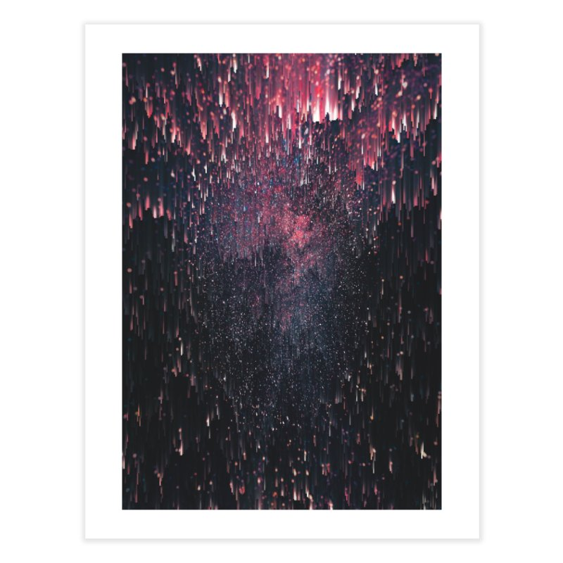Stars Juice Home Fine Art Print by cafelab