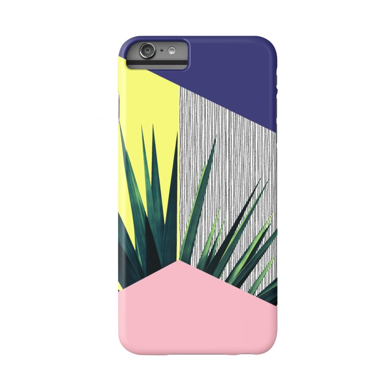 Geometric Leaves #1 Accessories Phone Case by cafelab