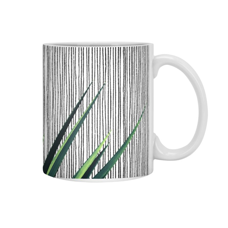 Geometric Leaves #1 Accessories Mug by cafelab