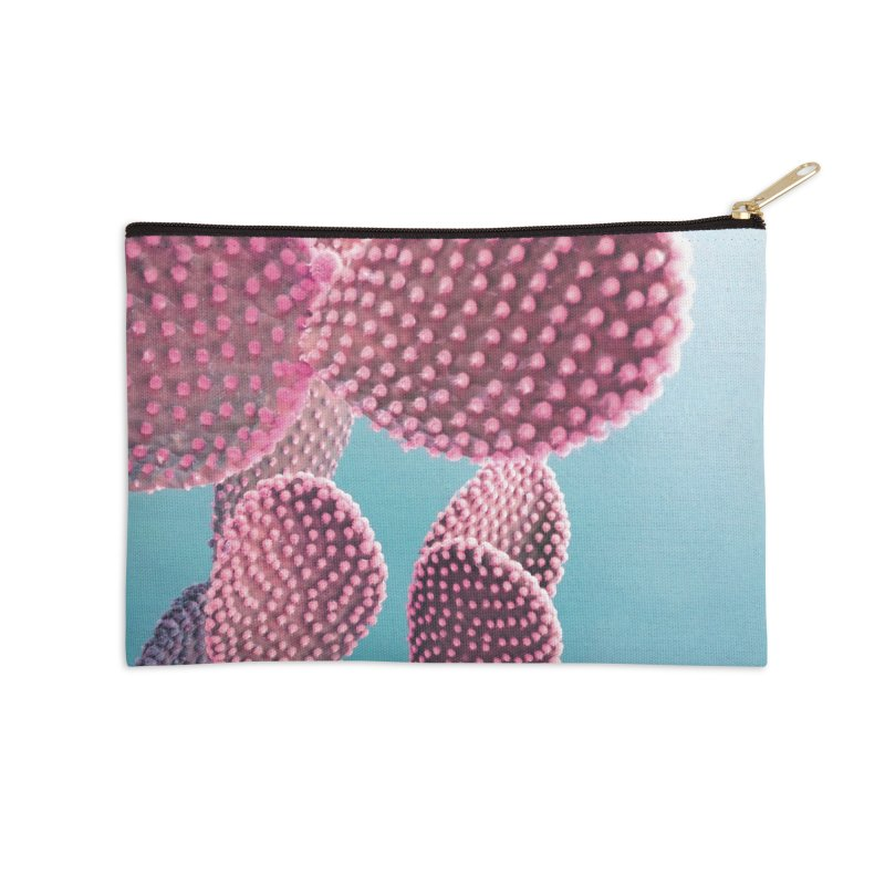 Candy Cactus Accessories Zip Pouch by cafelab's Artist Shop