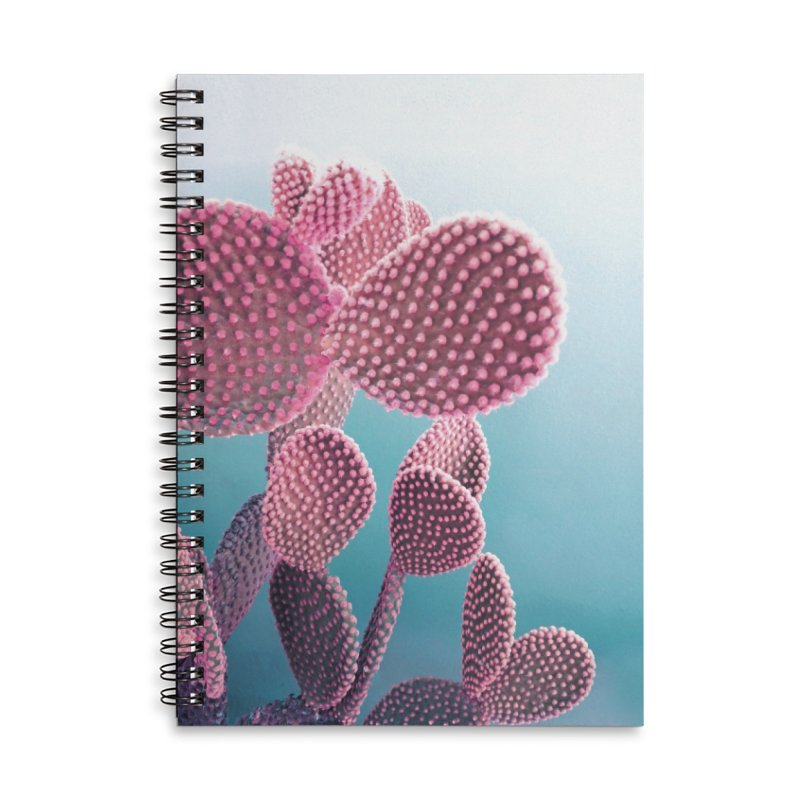 Candy Cactus Accessories Lined Spiral Notebook by cafelab
