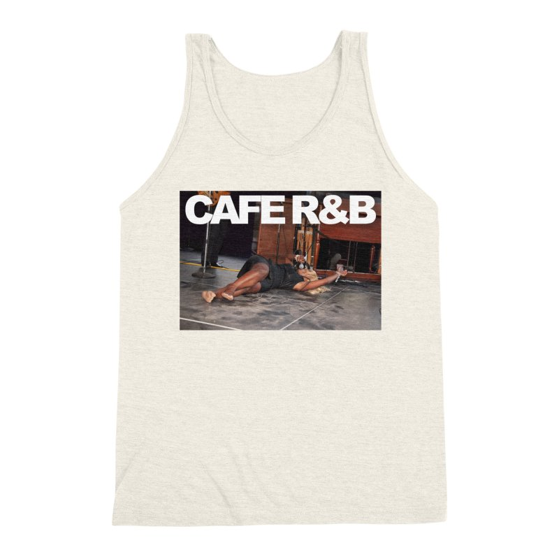 CAFE R&B Roach on the floor Men's Triblend Tank by CAFE R&B