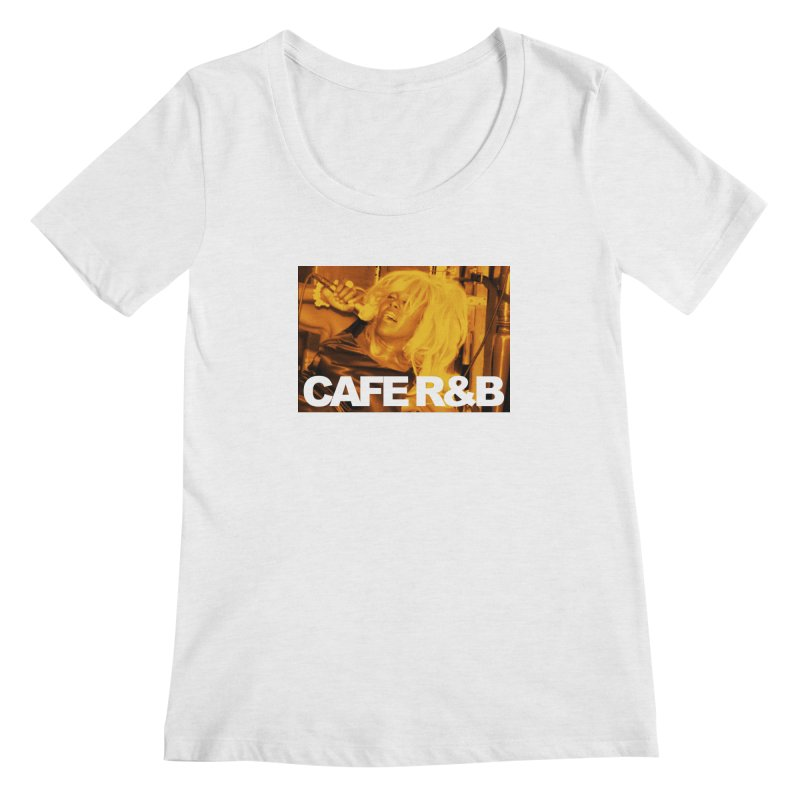 Cafe R&B Roach Rising Women's Regular Scoop Neck by CAFE R&B