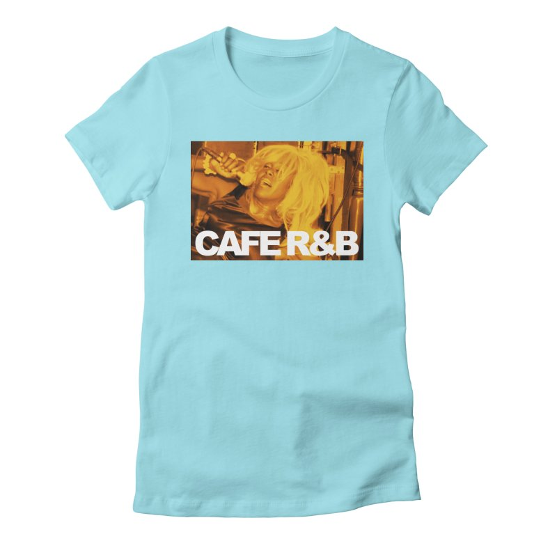 Cafe R&B Roach Rising Women's Fitted T-Shirt by CAFE R&B
