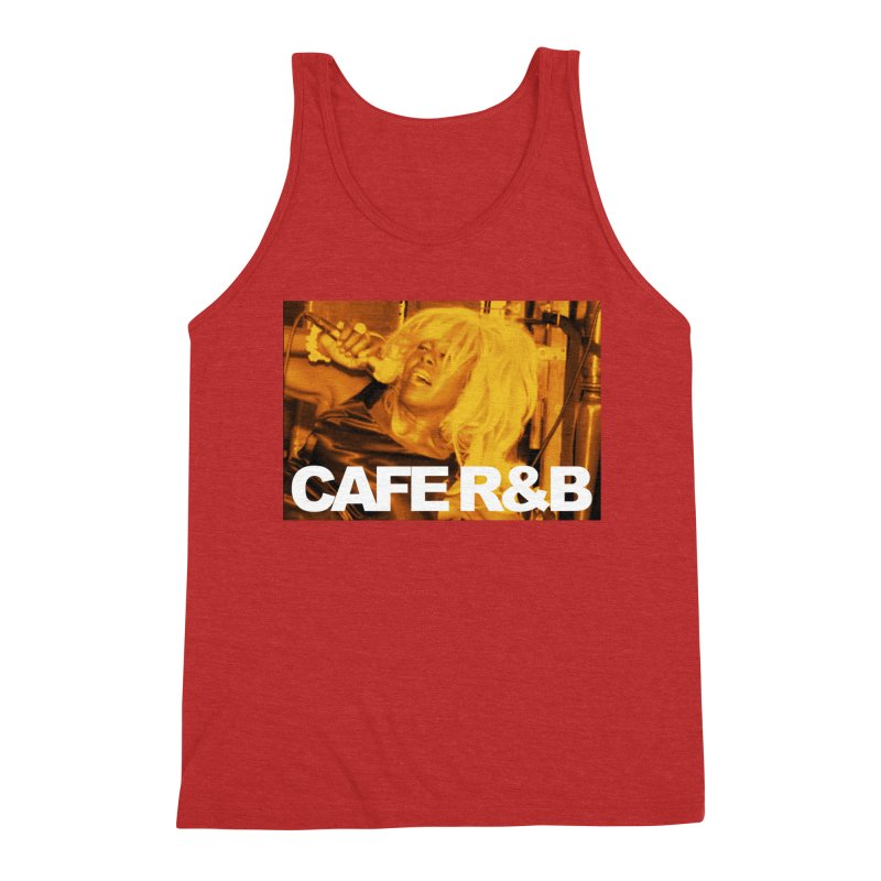 Cafe R&B Roach Rising Men's Triblend Tank by CAFE R&B