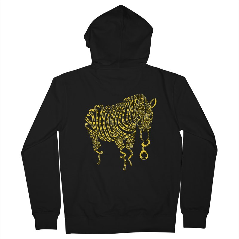 Nature Of Crime Women's Zip-Up Hoody by caffeinart's Artist Shop