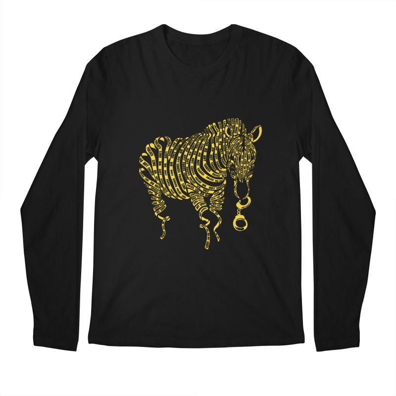 Nature Of Crime Men's Longsleeve T-Shirt by caffeinart's Artist Shop