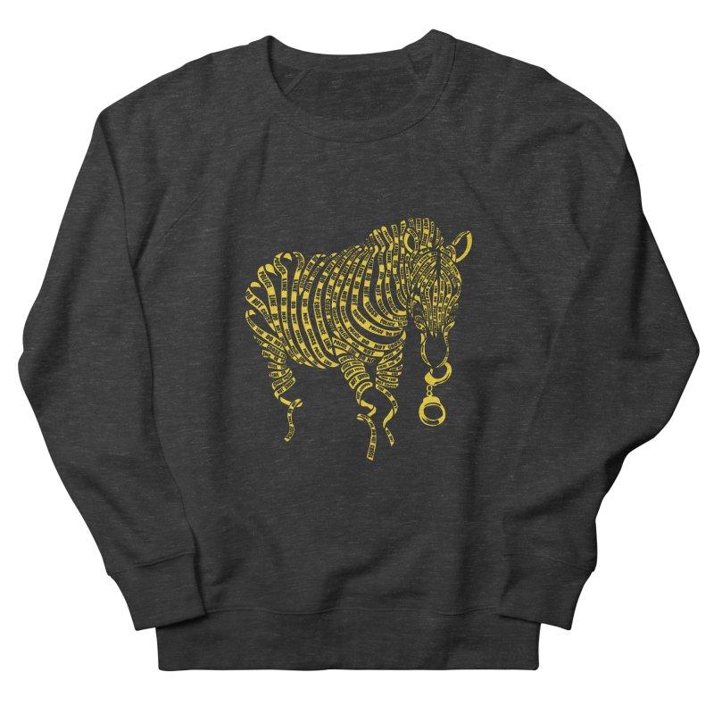 Nature Of Crime Men's Sweatshirt by caffeinart's Artist Shop