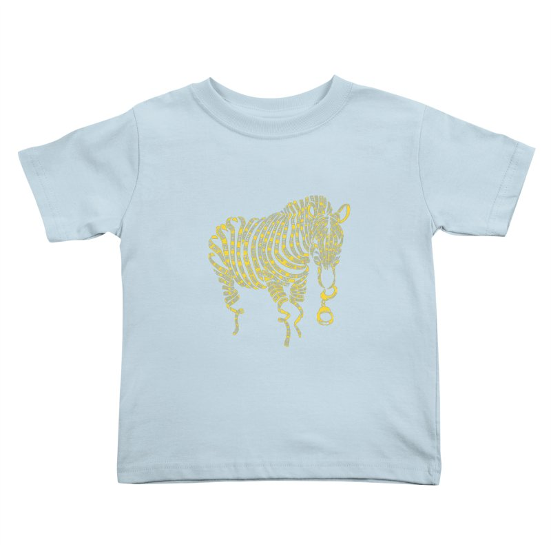 Nature Of Crime Kids Toddler T-Shirt by caffeinart's Artist Shop