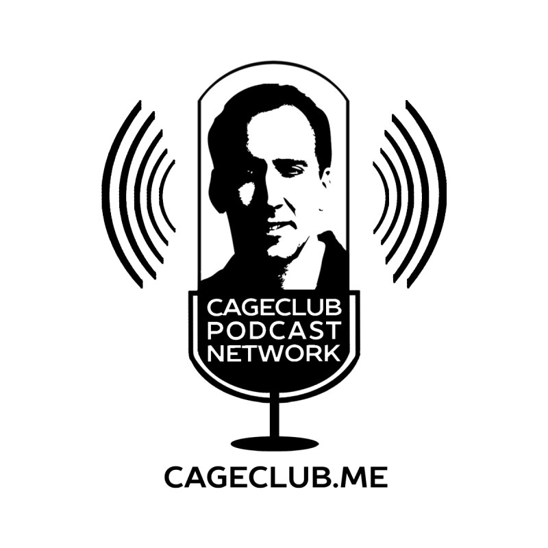 I ❤️ The CageClub Podcast Network (black logo) by The CageClub Podcast Network Shop