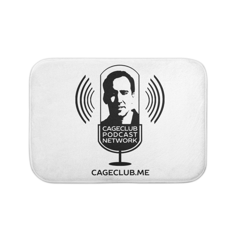 I ❤️ The CageClub Podcast Network (black logo) Home Bath Mat by The CageClub Podcast Network Shop