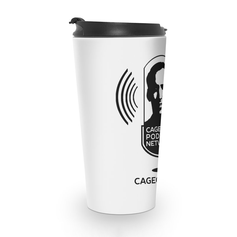 I ❤️ The CageClub Podcast Network (black logo) Accessories Travel Mug by The CageClub Podcast Network Shop