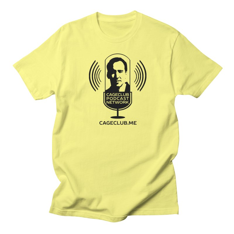 I ❤️ The CageClub Podcast Network (black logo) Men's T-Shirt by The CageClub Podcast Network Shop