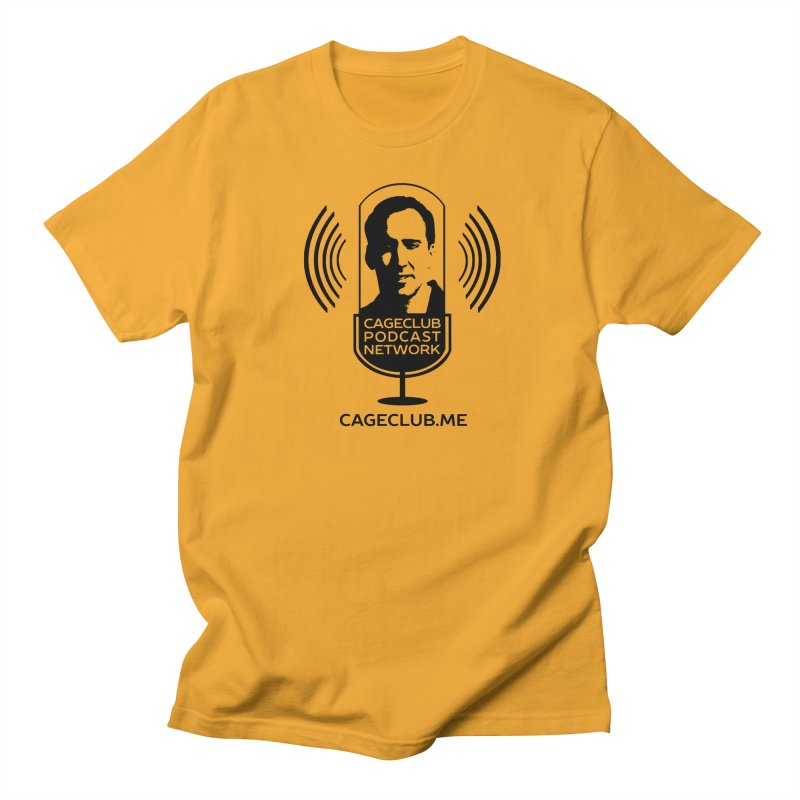 I ❤️ The CageClub Podcast Network (black logo) Women's Regular Unisex T-Shirt by The CageClub Podcast Network Shop