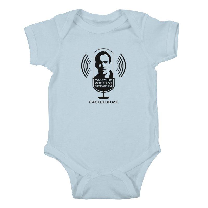 I ❤️ The CageClub Podcast Network (black logo) Kids Baby Bodysuit by The CageClub Podcast Network Shop