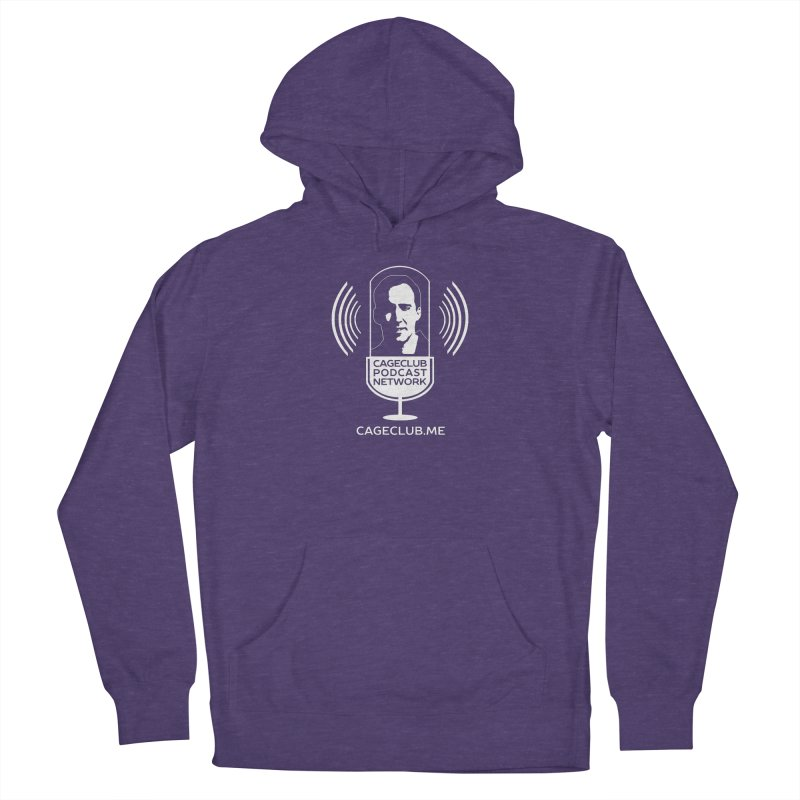 I ❤️ The CageClub Podcast Network (white logo) Women's French Terry Pullover Hoody by The CageClub Podcast Network Shop