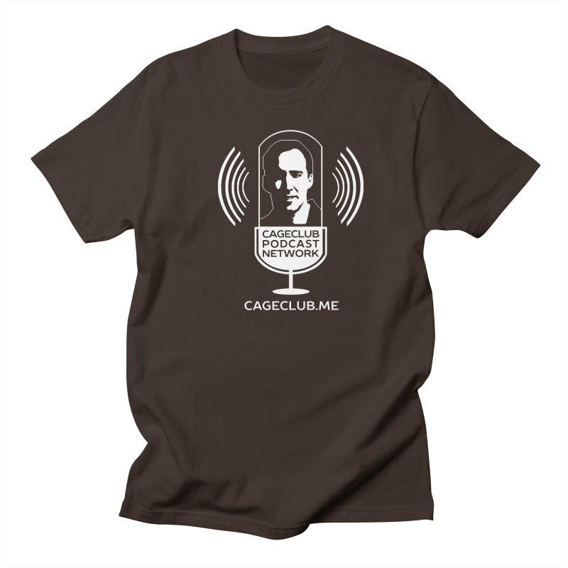 I ❤️ The CageClub Podcast Network (white logo) Men's Regular T-Shirt by The CageClub Podcast Network Shop