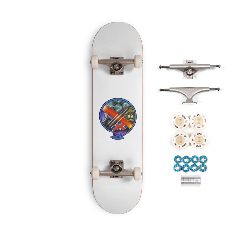 X is for Podcast: An Uncanny X-Men Experience Accessories Complete - Premium Skateboard by The CageClub Podcast Network Shop
