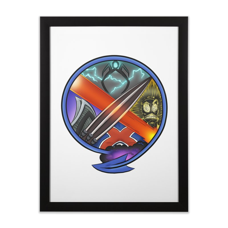 X is for Podcast: An Uncanny X-Men Experience Home Framed Fine Art Print by The CageClub Podcast Network Shop
