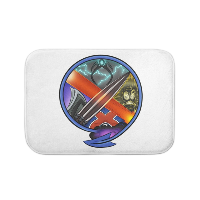 X is for Podcast: An Uncanny X-Men Experience Home Bath Mat by The CageClub Podcast Network Shop