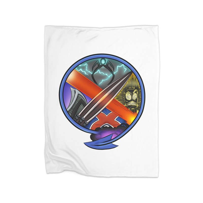 X is for Podcast: An Uncanny X-Men Experience Home Fleece Blanket Blanket by The CageClub Podcast Network Shop