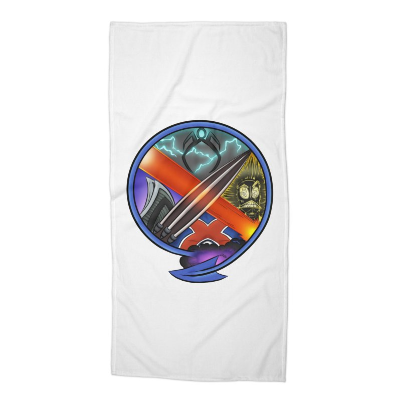 X is for Podcast: An Uncanny X-Men Experience Accessories Beach Towel by The CageClub Podcast Network Shop