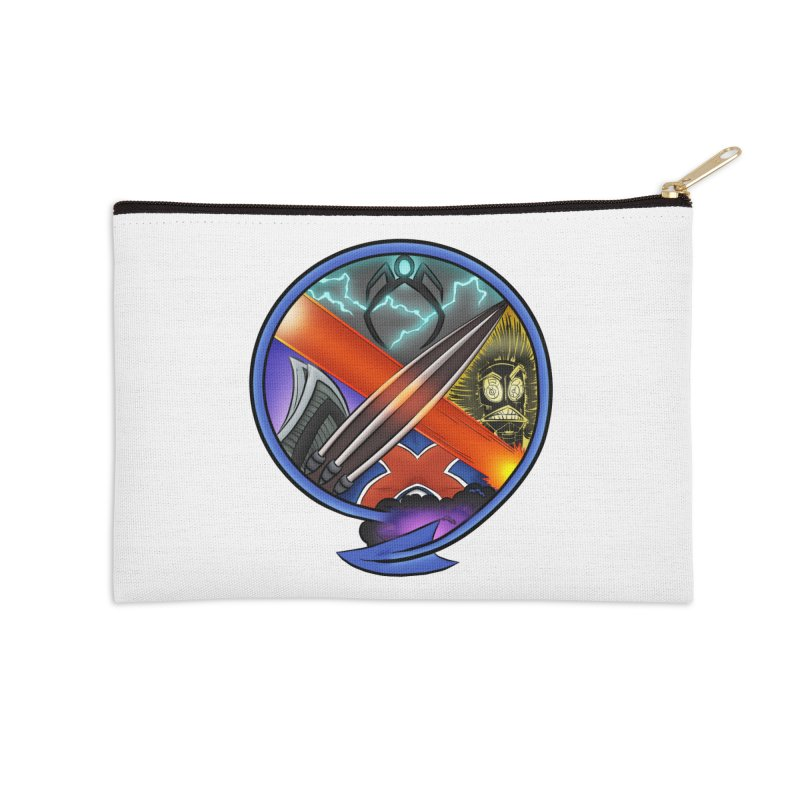 X is for Podcast: An Uncanny X-Men Experience Accessories Zip Pouch by The CageClub Podcast Network Shop