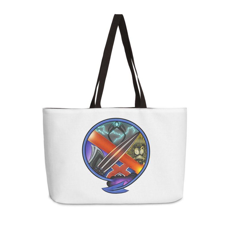 X is for Podcast: An Uncanny X-Men Experience Accessories Weekender Bag Bag by The CageClub Podcast Network Shop