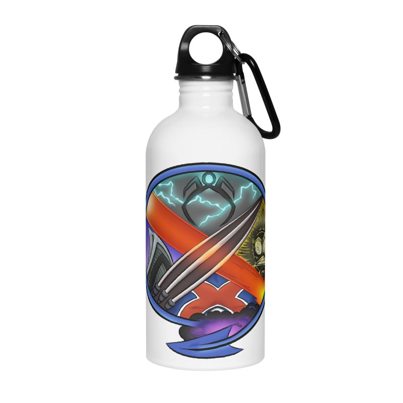 X is for Podcast: An Uncanny X-Men Experience Accessories Water Bottle by The CageClub Podcast Network Shop