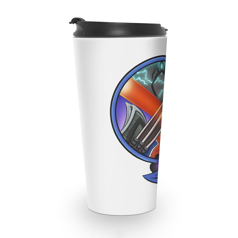 X is for Podcast: An Uncanny X-Men Experience Accessories Travel Mug by The CageClub Podcast Network Shop