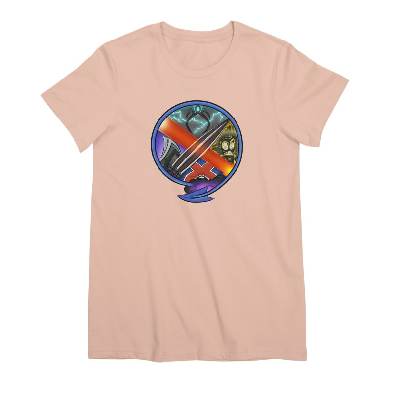 X is for Podcast: An Uncanny X-Men Experience Women's Premium T-Shirt by The CageClub Podcast Network Shop